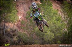 David Braceras debuta con éxito en la categoría de 85 cc en motocross