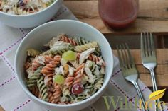 Cranberry Chicken Pasta Salad - Live Healthy With Patty http://livehealthywithpatty.com/blog/cranberry-chicken-pasta-salad/