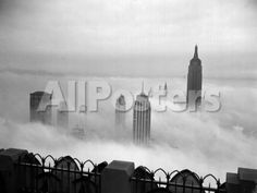 The Manhattan Skyline from the 69th Floor of the RCA Building Landscapes Photographic Print - 61 x 46 cm