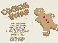 """Cookie Swap"" Invitation, Paperless Post"