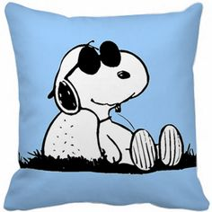 Capa Almofada - Snoopy Soneca