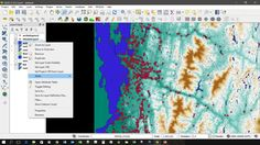 Using QGIS to Assess the Frequency of Location Points to Specific Environmental Features