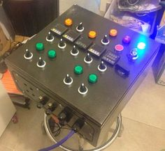 Electric brewery control panel build.