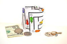 KIDS Secret Stash Money Cuff Mousetrap New Print by bluepiedesigns, $10.00
