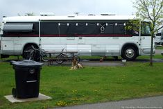 Another RV bus conversion we saw on our last RV trip. photo by Curtis at TheFunTimesGuide.com