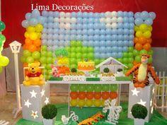 Decoração Provençal - Ursinho Pooh