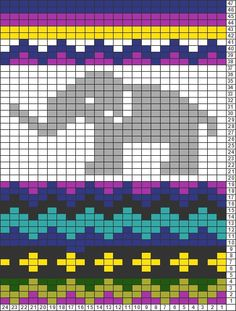 Tricksy Knitter Charts: britts hat by blqgn
