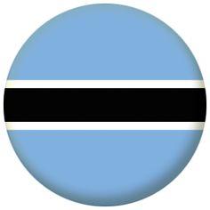 Botswana Country Flag