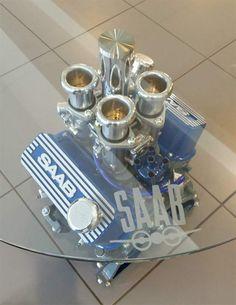 Saab V4-Engine Table Set