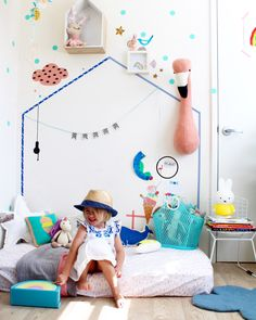 Children Bedroom Ideas | colorful kids rooms | playroom | rumpus room | little ones
