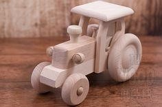 Large Wooden car toy, Race Car, Unpainted Car, Organic Car Toy, Eco Friendly Toy, Kids toys, Children Boys, Organic, Car with weels, Tractor