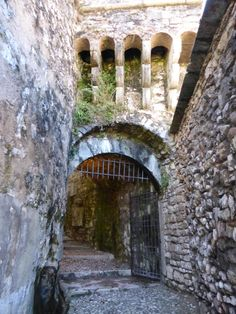 Castle Entrance to Italian Historical Museum of War ~ Rovereto, Italy