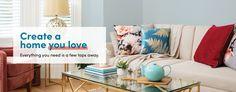 Wayfair.co.uk - Shop Furniture, Lighting, Homeware & More Online Uk Shop, Throw Pillows, Lighting, Bed, Interior, Furniture, Shopping, Home, Style