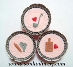 Cupcakes Chá de Panela ! curta nossa página no Facebook: www.facebook.com/sonhodocerj