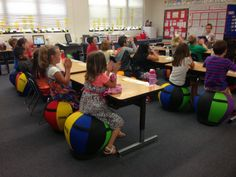 Check out this post on alternative seating over at The Resourceful Apple!