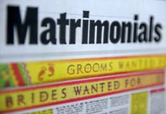 Post Online Free Matrimonial Ads : http://adstoindia.blogspot.in/2014/03/post-online-free-matrimonial-ads.html