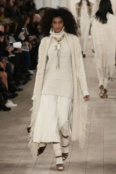 2015 Fall Runway Fashion from Ralph Lauren: Big Sweaters for Fall from Ralph Lauren