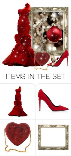 """I Love Christmas!"" by itsablingthing ❤ liked on Polyvore featuring art"