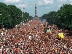 "Love Parade, Germany (canceled)    One of the world's biggest festivals, celebrated from 1989-2003 & 2006-2010, it included electronic music, costumes, and ""let-lose"" behavior. Unfortunately due to the tragic deaths of 21 participants in 2010 due to over crowding, the Love Parade has been permanently canceled."