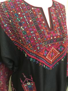 Palestinian embroidery - Inaash. Exquisite quality and craftsmanship.