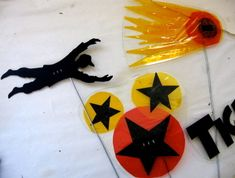 These are some of the shadow puppets I made recently for Jigsaw Theatre Company's production of Wendy, a new musical re-imagining of J M Barrie's Peter Pan. These and others can be seen…