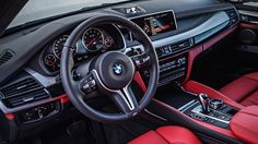 BMW X5 M interior - The car you want to hate, yet can't help but love. Full review of the #BMW X5 M performance #SUV