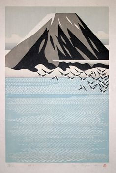 Japanese artist Ray Morimura (or Morimura Ray, rather) creates graphically detailed prints from woodblocks that are so exquisitely designed