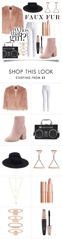 """Wow Factor: Faux Fur"" by pointe-is-life ❤ liked on Polyvore featuring Theory, Barbour International, Sam Edelman, Natalie B, Accessorize and Forever 21"