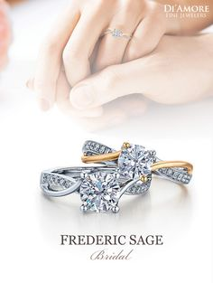 Frederic Sage Bridal Collection #bridal #engagement #ring