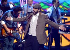 Juan Luis Guerra performs onstage during the XIII Annual Latin GRAMMY Awards