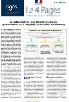 Les relocalisations : une démarche multiforme   Direction générale de la compétitivité, de l'industrie et des services