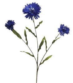 "Bloom Room 26"" Cornflower Spray-Blue Joann's"