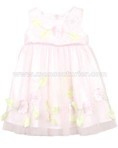 586af8b2fa8 Biscotti Little Girls  Ballerina Dress Flower Blossoms Easter Outfit For  Girls