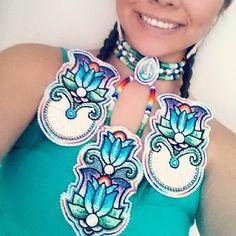 Native Beadworkers @indigenousbeaders Instagram photos | Websta