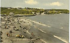 The Sands Benllech Bay  Anglesey  Wales circa 1950 by StarPower99, $5.00