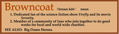 Browncoat definition