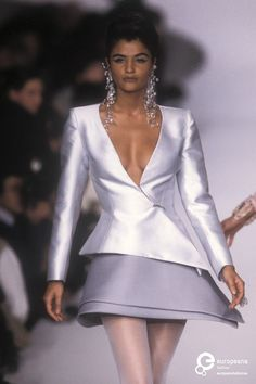 Image from object titled 'Lanvin, Spring-Summer Couture' Modern Fashion, 90s Fashion, Retro Fashion, Runway Fashion, Fashion Models, High Fashion, Fashion Show, Vintage Fashion, Lanvin