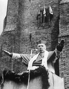 Primate Stefan Wyszyński's leadership led to the exceptional strength of the Polish Catholic Church Pope Pius Xii, Poland History, Invasion Of Poland, Juan Pablo Ii, Warsaw Pact, Early Middle Ages, Political System, Freedom Of Speech, Interesting History