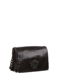 VersaceIdol Python Handbag