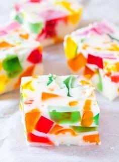 Broken Glass Jello I Knead To Eat In 2020 Mosaic Jello Recipe Jello Dessert Recipes Mexican Jello Recipe