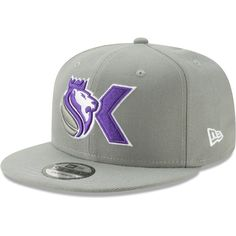 buy popular 77047 2e9ca Men s Sacramento Kings New Era Gray Back Half OTC 9FIFTY Adjustable Hat,  Your Price   31.99. NBA Caps   Hats