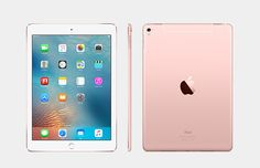 Apple - iPad Pro with Wi-Fi + Cellular - - Sprint - Gold - Zoom Ipad Pro 12, Ipad 4, Pink Apple, Buy Apple, Ipad Mini 2, Ipad Pro Cellular, Ipad Pro Rose Gold, Ipod Pro, Ipad Rules