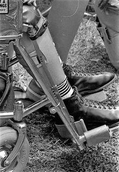 Combat Boots, Legs, Braces, Womens Fashion, Vintage, Women's Fashion, Vintage Comics, Woman Fashion, Suspenders