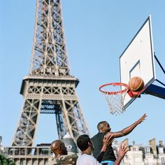 From New York and Kampala to Paris and Manila – photographer Kevin Couliau documented the planet's prettiest places to play basketball.