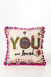 Pin it to Win It!  Win a $100 La Palmera Gift Card. Follow us on Pinterest and repin at least one image from our Mother's Day board to be entered to win! Don't forget to #LPMothersDayYou are Loved Pillow from Francesca's Collections! only $22.00