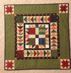The challenge this month for the Small Quilt Talk group is to make a small bear paw quilt. A few years ago, I made this one. Since I already had this one, I wasn't sure I wanted to make anoth… Boy Quilts, Star Quilts, Scrappy Quilts, Mini Quilts, Quilt Blocks, Nancy Zieman, Skinny Quilts, Bear Paw Quilt, Blog Art