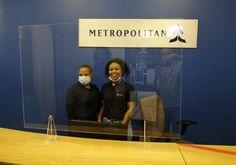 Virus screen at Metropolitan