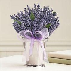 lavendar centerpiece