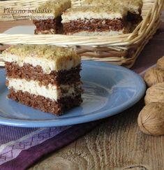 ВКУСНО И СЛАДКО  кулинарни рецепти: Орехов сладкиш