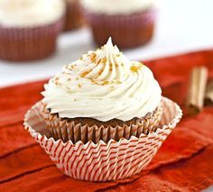 Gluten-Free Gingerbread Cupcakes
